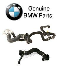 For BMW F01 F02 F06 F07 F10 F13 Pair Set of Lower & Upper Radiator Hoses Genuine