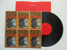 """LP 33T PETER TOSH """"Equal rights"""" PC 34670 - NO WRITING """"COLUMBIA"""" ON LABEL §"""