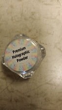 Premium HOLOGRAPHIC Chome Pigment Rainbow Manicure Powder FREE APPLICATOR !