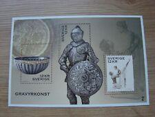 Sweden 2010 GRAVYRKONST  Art of Engraving Minisheet SG MS2688  MNH