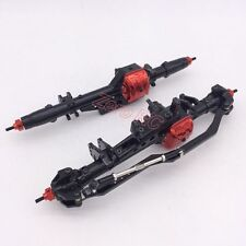 ALUMINUM ALLOY COMPLETE ASSEMBLED Front + Rear AXLE For 1/10 RC AXIAL WRAITH