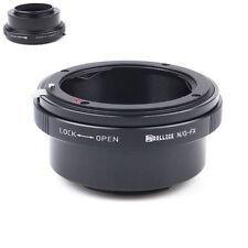 Dollice Nikon G AF-S mount lens To Fujifilm Fuji FX X-Pro2 X-E1 Adapter Camera