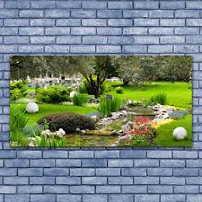 Impression sur verre acrylique Image Tableau 140x70 Nature Jardin