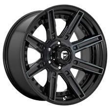 "Fuel 1Pc ROGUE Gloss Machined Double Dark Tint 20x10""Ford F150 Rims 6x135 -18 Ea"