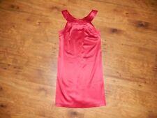 K Petite Collection - Women's size 4P  halter dress - cranberry