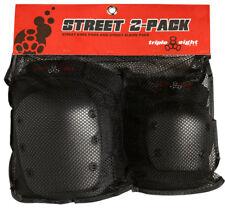 Triple8 Skateboard Street Sport Pad Set -2 Elbow/Knee Small
