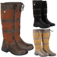 ADULTS DUBLIN RIVER RIDING YARD STABLE WALKING LEATHER COUNTRY BOOTS SIZE 3-11