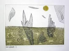 GUICHARD-MEILI Jean, Litter/art/ure. 8 gravures au carborundum de Henri Goetz