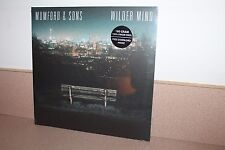 Mumford & Sons Wilder Mind NEW & SEALED 180 gram vinyl LP + download IMPORT