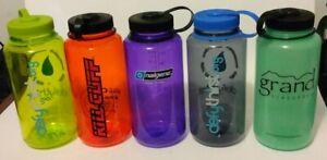NALGENE Water Bottle ~ Wide~ Lot of 5 ~ 32 oz