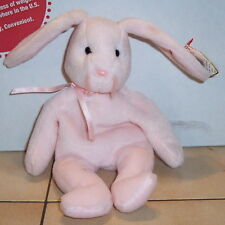 Ty Hoppity the Pink Bunny Beanie Baby plush toy