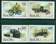NAURU 317-20 SG332-35 MNH 1986 Early Transportation set of 4 Cat$6