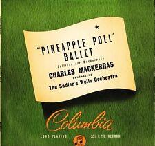 33SX 1001 Mackerras Sullivan Piña Poll Ballet Suite Reino Unido Columbia LP EX/EX PS