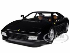 FERRARI 348 TB BLACK 1/18 DIECAST MODEL CAR BY HOTWHEELS X5530