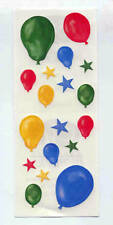 Creative Memories Primary Balloons &stars Sticker Strip