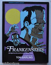 FRANKENSTEIN Horror Classics Library STORY BOOK Tom Batling Illustrations 1976