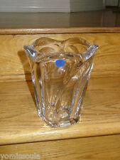 Vintage Royal Copenhagen Lead Crystal Vase circa 1980