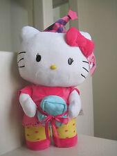 "23"" Giant Big Sanrio HELLO KITTY BIRTHDAY PARTY GREETER Plush Stuffed Animal"