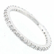 14k Diamond Eternity Band 0.84 Carats - Eternity Diamond Ring- Size 7 1/2  NEW