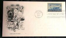 US FDC #958 Swedish Pioneer Centennial; Cachet;  Chicago, ILL