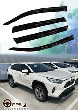 For 2019-2020 Toyota Rav4  Deflector Window Visors Guard Vent Weather Shield