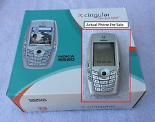 Nokia 6620 - Cingular / AT&T  Cellular Phone and Extras - READ LISTING