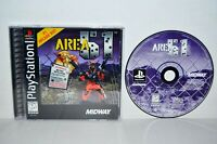 Area 51 (Sony PlayStation 1, 1996) PS1 PSOne PSX PS2 Complete Black Label MINT
