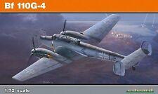 Eduard Kits 1:72 escala EDK7094 Eduard Profipack Kits 1:72 - Bf110G-4