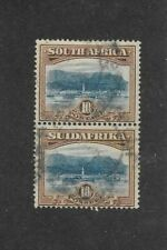 SOUTH AFRICA STAMPS #32 PAIR (USED) FROM 1927-28
