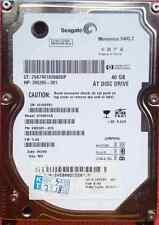 Seagate 40GB 40 GB 5400 RPM IDE PATA P-ATA Notebook Festplatte HDD 2,5 Zoll