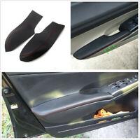 4 Pcs/Set Car Door Handle Armrest Panel Covers For Honda Civic 8th Gen 2006-2011
