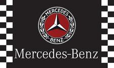 Black Mercedes Benz Motors Banner AMG 3X5Ft Polyester Car Flag Free Shipping/106