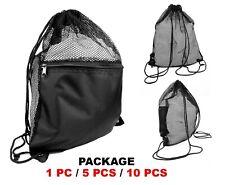 Drawstring Mesh Bag, Sling Bag, Equipment Bag, Martial Arts backpack, Gym Bag
