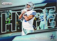 2018 Panini Prizm Football Hype Prizms #H8 Dak Prescott Dallas Cowboys