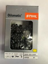 NEW STIHL CHAINSAW CHAIN SAW 20 in. 26RM 81 .325 .63 68 20 INCH BLADE AGGRESSIVE