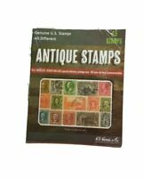 H E Harris & Co.15 ANTIQUE POSTAGE STAMPS COLLECTION FOR BEGINNERS