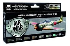 Vallejo VLJ-P71152 Imperial Japanese Army Pre-War to 1945 Model Air Paint Set