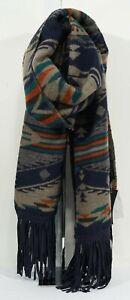 NWT Steve Madden Multicolor Southwestern Style Blanket Wrap Scarf