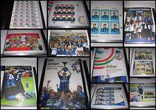 Francobolli Lire Euro Folder Stamp Campione d'Italia INTER CALCIO Scudetto