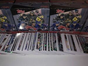 Topps 2020-2021 NHL Hockey Stickers 2020/21 (Pick your Missing Stickers #1-250)
