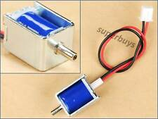 12V DC Mini Small Solenoid Snuffle Valve Gas Air Pneumatic NC Normally Closed