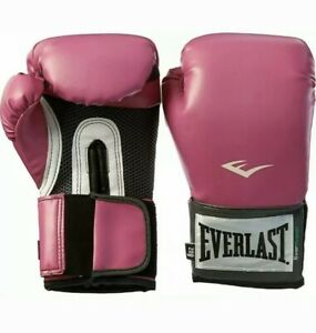 Everlast Pro Style Training Gloves 8 Oz Pink Band NEW!!!
