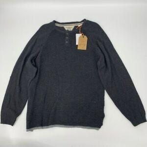 New Vintage weatherproof mens crew neck sweater Sz XL Charcoal Cotton x 373