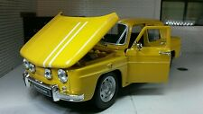 G LGB 1:24 Scale 1964 Renault R8 Gordini Very Detailed Welly Model Car yellow