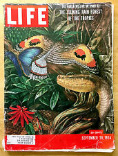 Life Magazine - September 20, 1954 - Rain Forests Feature