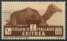 Eritrea 1933 SG#201, 10c Brown Used #D82244