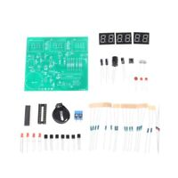 AT89C2051 Six Digital LED Electronic Clock 51 MCU DIY Components Electronic Kit