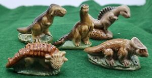 Wade Dinosaur Set 1993 all 5 by Barbara Cooksey