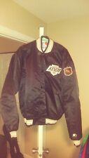 Vintage Los Angeles Kings Throwback Satin Starter Jacket XL! Nhl