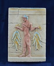 Fisherman demonstrated by Minoan Artist 1600B.C. A Great copy Sculpture Relief